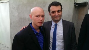Christophe JUDAS et Florian Philippot