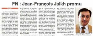 article VM JF Jalkh promu