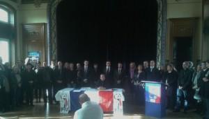 présentation des candidats aux départementales