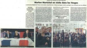 Marion Echo des Vosges2
